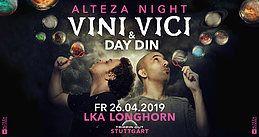 Party Flyer Vini Vici & Day.Din | ALTEZA NIGHT 26 Apr '19, 22:00