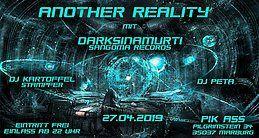 Party Flyer Another Reality w. Daksinamurti - Sangoma Records 27 Apr '19, 22:00