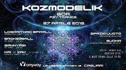 Party Flyer KOZMODELIK 27 Apr '19, 22:00