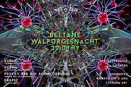 Party Flyer Beltane-Walpurgisnacht by Hyprid Rec. & Sonus Sonorum 30 Apr '19, 22:00