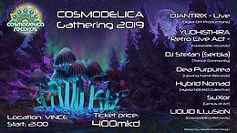 Party Flyer Cosmodelica Gathering 2019 30 Apr '19, 21:00
