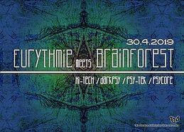 Party Flyer Eurthmie meets Brainforst 30 Apr '19, 23:00