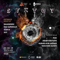 Party Flyer Altered Vision x Voidrealm pres: Syzygy 3 May '19, 21:00