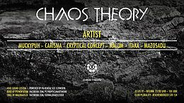 Party Flyer ChaosTheory/NewLocation&Void Acoustic 3 May '19, 23:00