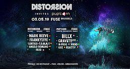 Distorsion invite Pup'corn 3 May '19, 23:00