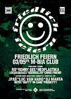 Party Flyer Friedlich Feiern 3 May '19, 23:30