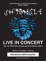 Party Flyer Shpongle LIVE IN CONCERT (Final Performance) 3 May '19, 18:30