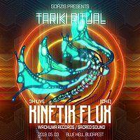Party Flyer Tariki Ritual vol. 3 w/ Kinetik Flux (CHE) 3 May '19, 22:00