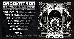 Party Flyer GroovaTRON 4 May '19, 22:00