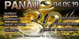 Party Flyer Panaji 4 May '19, 22:00