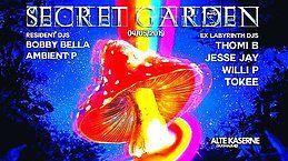 Party Flyer SECRET GARDEN w/ ex-Labyrinth DJs 4 May '19, 23:00