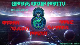 Party Flyer Space Drop Party 4 May '19, 21:00