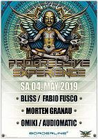 Party Flyer The Festival with Bliss Fabio Fusco, Morten Granau, Audiomatic, Omiki 4 May '19, 23:00