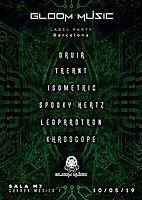 Party Flyer Ashkari project presents: GLOOM MUSIC LABEL NIGHT 10 May '19, 23:30