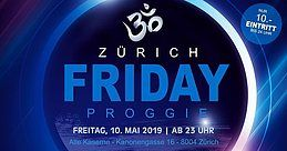 Party Flyer Friday Proggie 10 May '19, 23:00