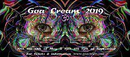 Party Flyer Goa Cream 2019 10 May '19, 18:00