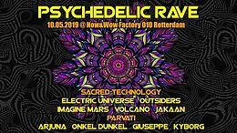 Party Flyer Psychedleic Rave 10. Mai. 19, 23:00