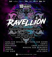 Party Flyer Ravellion 10 May '19, 23:30