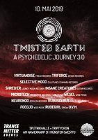Party Flyer Twisted Earth - A psychedelic journey 10 May '19, 21:00