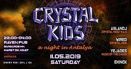 Party Flyer Crystal Kids Night Antalya 11 May '19, 22:00