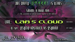Party Flyer Pre Party 15 Years 11 May '19, 23:30