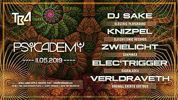 Party Flyer Psycademy 11 May '19, 23:00