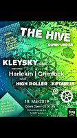 Party Flyer The Hive -NECMI live..KLEYSKYlive.. 18 May '19, 23:00