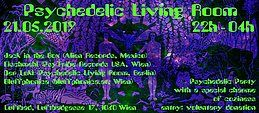 Party Flyer Psychedelic Living Room 21 May '19, 20:00