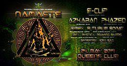 Party Flyer Psybox - Namaste with E-Clip Azkaban Phazed Simex and more 24 May '19, 22:00