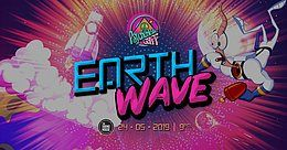 Party Flyer Psychedelic Gaff #15 Earth Wave w/ OddWave & Earthworm 24 May '19, 21:00