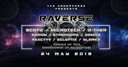 Party Flyer Raverse 24 May '19, 22:00