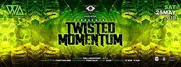 Party Flyer Harmonic Vision: Twisted Momentum 25 May '19, 23:00