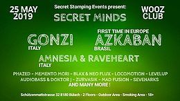 Secret Minds with Gonzi and many more 25 May '19, 22:00