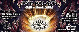 Party Flyer Psy Palace - Crispy Himmelfahrt ••• C³ 29 May '19, 22:00