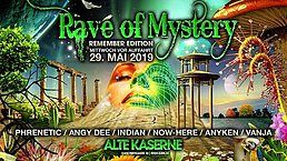 Party Flyer Rave of Mystery - Remember Edition 29 May '19, 22:00