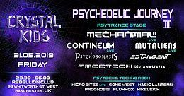 Party Flyer Psychedelic Journey III 31 May '19, 23:30