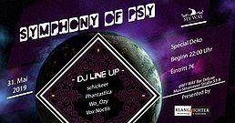 Party Flyer Symphony of Psy 31 May '19, 22:00