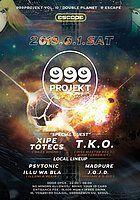 Party Flyer 999Projekt Psytrance Party Vol.10 1 Jun '19, 22:00