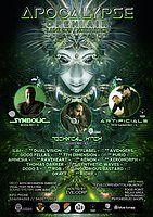 Party Flyer Apocalypse Open Air w/ Symbolic / Technical Hitch / Artificials 1 Jun '19, 18:00