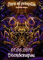 Party Flyer Doors of Perception (Birthday Session) 1 Jun '19, 17:00