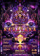 "Party Flyer Narayana ""Twisted Reality"" w. Daksinamurti-Sangoma Records 1 Jun '19, 22:00"