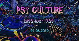 Party Flyer PsyCulture (Bass gegen Hass) Special Edition 1 Jun '19, 22:00