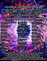 Party Flyer Circles of Light 7 Jun '19, 17:00