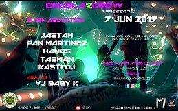 Party Flyer ENCELA2CREW PRESENTS: ALIEN ABDUCTION 7 Jun '19, 23:30