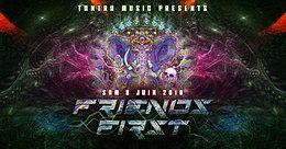 Party Flyer FRIENDS FIRST - Open Air 8 Jun '19, 20:30