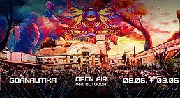 Party Flyer Goanautika spring Festival 2 Days drinnen&draussen 8 Jun '19, 14:00