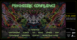 Party Flyer PSYCHEDELIC CONFLUENCE 8 Jun '19, 18:00