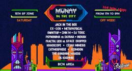 MUNAY in the City - OffWeek 2019 15 Jun '19, 17:00
