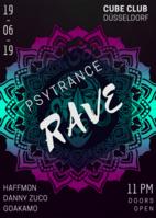 Party Flyer PsyEvolution III 19 Jun '19, 23:00