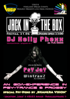 Party Flyer Jack in the Box meets Helly Phexx 21 Jun '19, 23:00